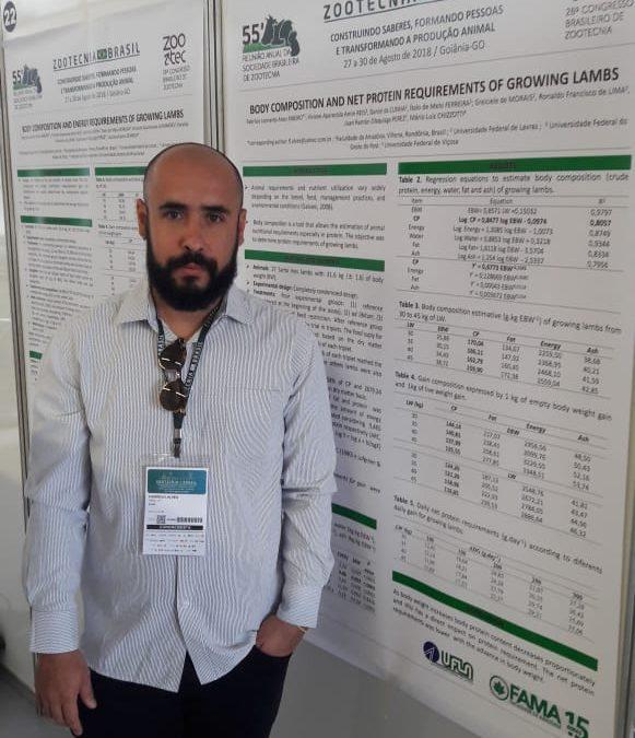 Professor do curso de Zootecnia da FAMA apresenta trabalhos em eventos do Congresso Zootecnia Brasil, em Goiânia