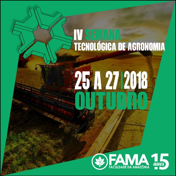 Curso de Agronomia da FAMA realizará IV Semana Tecnológica de Agronomia