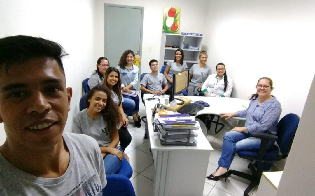 Acadêmicos do primeiro período de Psicologia fazem visita ao Ministério Público