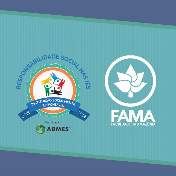 """FAMA recebe """"Selo Instituição Socialmente Responsável"""""""