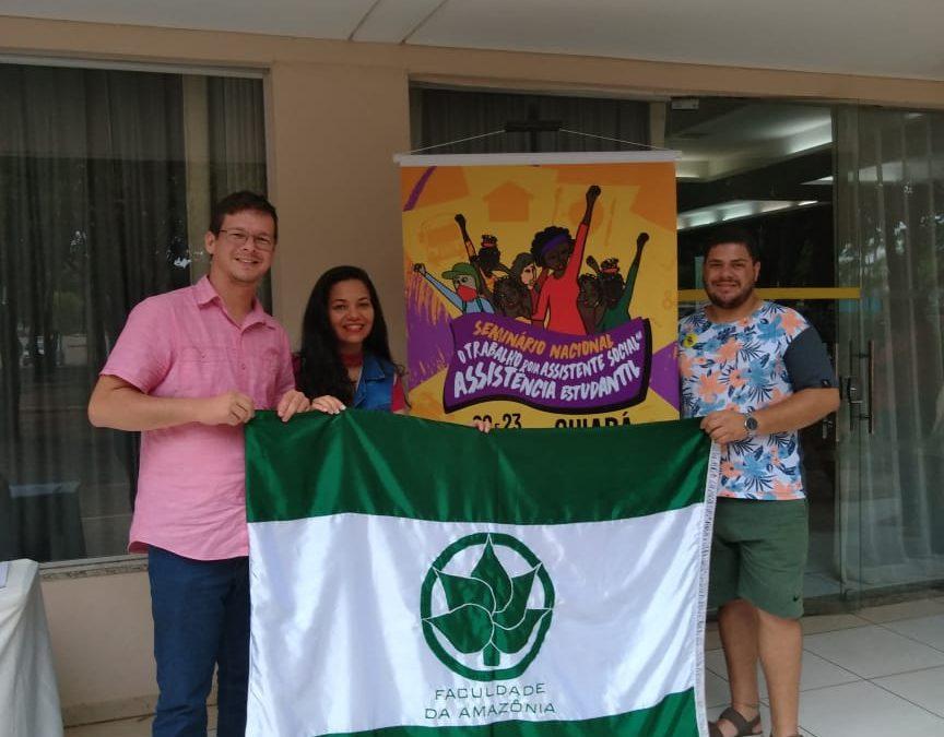 Equipe da FAMA participa de Seminário Nacional de Serviço Social