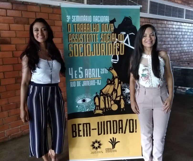 Professoras de Serviço Social da FAMA participam de seminário nacional na Uerj