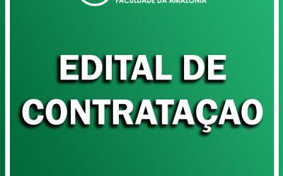FAMA lança edital para contratação de analista administrativo