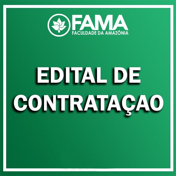 EDITAL DE SELEÇÃO SIMPLIFICADA PARA CONTRATAÇÃO